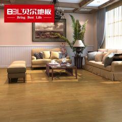 贝尔地板 木塑WPC地板5.5mm环保0甲醛耐磨防水地板 曼哈顿时代BEW5001