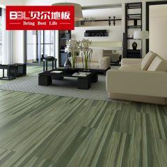 贝尔地板 强化复合地板 12mm负离子苹果系列 PG008魅蓝(老7片装)