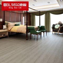 贝尔地板 WPC木塑地板5.5mmPVC防水地板耐磨环保0甲醛 爵士印象BEW5004