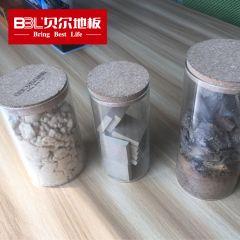 贝尔地板 基材罐子 强化木地板基材对比透明玻璃罐(含基材,3罐一组)