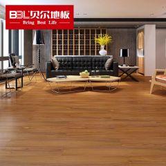 贝尔地板 家用环保木地板强化复合地板耐磨U型镜面防水 小城月光TM1004