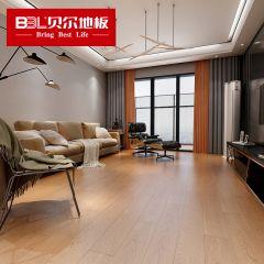 贝尔地板 芯三层实木系列 橡木多层实木地板拉丝 XS8211