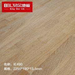 贝尔地板 原装进口三拼多层实木地板 三层实木地板 家用环保 IE490