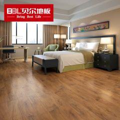 贝尔地板 强化复合地板 12mm负离子苹果系列 PG011梵高视界(老7片装)