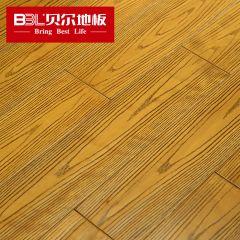 <strong>明仕亚洲</strong> 桦木纯实木地板 18mm仿古拉丝橡木纹 手抓纹 BHE-01