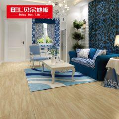贝尔地板 强化复合地板 12mm负离子苹果系列 PG005白橡(老7片装)