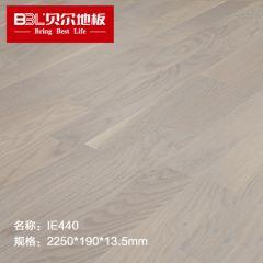贝尔地板 原装进口三拼多层实木地板 三层实木地板 家用环保 IE440