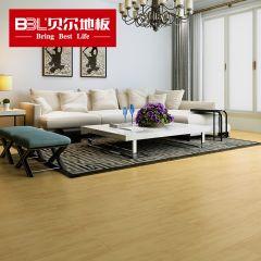贝尔地板 强化复合地板 12mm负离子苹果系列 PG010辽原枫情(老7片装)